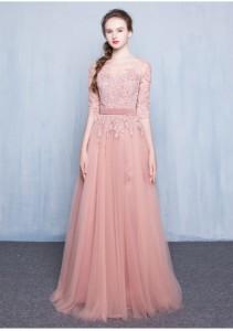 素敵な ロングドレス演奏会 結婚式 ドレス ウェディングドレス パーティドレス お呼ばれ ピアノ 発表