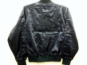 スカジャン 中綿なし 白龍 日本製本格刺繍のスカジャン