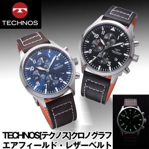 separation shoes 2561b dc0ed テクノス 革ベルト 時計の通販|au Wowma!