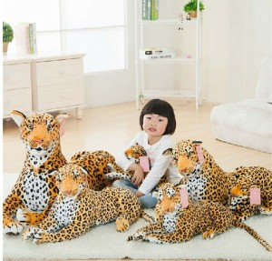 ぬいぐるみ/ライオン 縫い包み/ライオン抱き枕/お祝い/ふわふわぬいぐるみ豹75cm