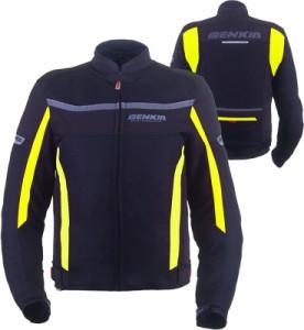 BENKIA メンズ 春夏バイクジャケット レーシング服 プロテクター装備 3シーズン バイクウェア 耐磨 防風通気 防水 メッシュ 商標5838742