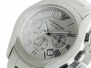 エンポリオ・アルマーニ EMPORIO ARMANI セラミック クロノグラフ AR1459 メンズ 腕時計 並行輸入品 送料無料