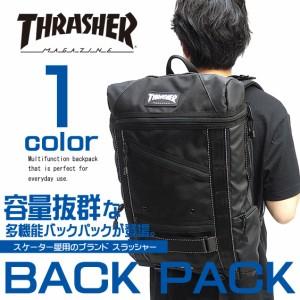 e2a608b63aa9 リュック THRASHER スラッシャー ボードバックパック PCポケット付き リュックサック THRASHER-THREX506