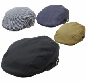 ハンチング 大きいサイズ 帽子 メンズ 無地系 サイドスナップ 58〜61cm対応 全国送料無料 ネコポス発送限定 exas