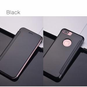 59fea797f2 iPhone7 ケース 手帳型 ミラー 鏡 鏡面 iPhone7カバー スマホケース ゴールド シルバー ピンク. イメージ1