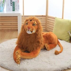 ぬいぐるみ 特大 ぬいぐるみ 猛獣 ライオン クリスマス    大 ライオン  動物ぬいぐるみ 抱き枕  店飾り  おもちゃ75cm