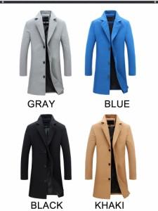 コート メンズ トレンチコート ロングコート ジャケット ダブル  メンズファッション コーディネート ビーコートアウター コート