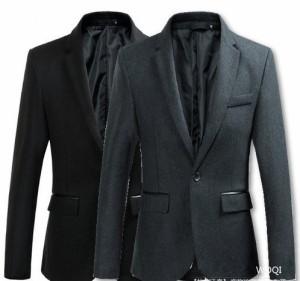 f36ca75bd46cfc テーラードジャケット メンズ ジャケット テーラード スーツ生地 キレイめ 細身 ラジャアウター ブレザー ワンボタン 無地