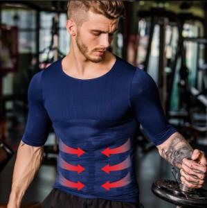 加圧シャツ 半袖 タンクトップ インナー 加圧インナー 加圧Tシャツ 半袖 ランニング tシャツ シャツ 加圧 腹筋