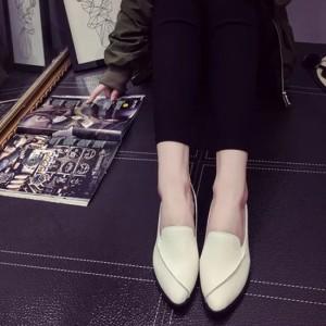 フラット シューズ ヌーディー ビジネス きれいめカジュアル 韓国