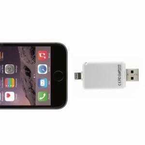 【送料無料】 Lightning&USB全シリーズ対応i-FlashDrive/Device HD内蔵メモリ32GB For  [iOS9対応]