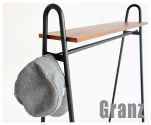 Granz-グランツ ハンガーラック (アメリカン,西海岸,おしゃれ,かっこいい,天然木,収納家具,ポールハンガー,コートハンガー)