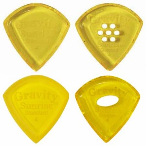 GRAVITY GUITAR PICK/GSUS4P,GSUS4PM,GSUS4M アクリルピック Sunrise Standard【グラビティギターピック】