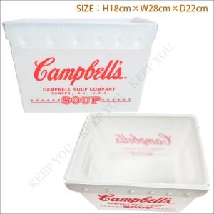 U.S.ポストボックス(Sサイズ) キャンベルスープ Campbell s アメリカン雑貨【工具 道具箱 収納 小物入 インテリア雑貨 おもちゃ箱】=┃