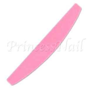 ネイルケア ピンクのスポンジバッファー 150/320