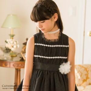 子供服 子供 ドレス 女の子 ブラックギャザードレス ワンピース 発表会 フォーマル 子供ドレス 結婚式 TAK PC178DR