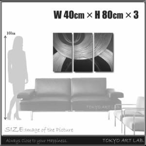 絵画 壁掛け / 魅せる高級感-赤×ゴールド 3枚組 ga337 / アート インテリア 油絵  オフィス リビング