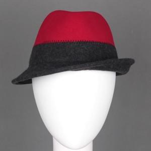 [MA8720390]フェルトハット 中折れ帽 中折れハット ソフトハット 3色展開