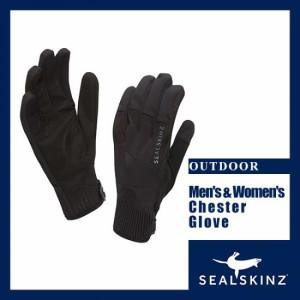 """SEALSKINZ シールスキンズ 男性用軽量乗馬グローブ Mens Chester Glove 1211509"""