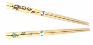 ハワイアン箸 ホヌ柄とモンステラ柄をご用意 ハワイアン好きに大人気のハワイアングッズな箸です