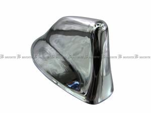BRIGHTZ ハリアーハイブリッド 65 メッキアンテナカバー Nタイプ  ANTENNA−010
