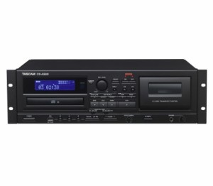 TASCAM/CD-A580 業務用カセットレコーダー/CDプレーヤー/USBメモリーレコーダー【タスカム】