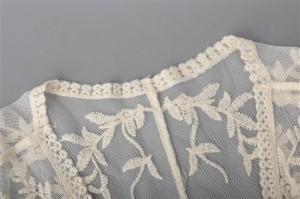 レディース 取寄せ 花柄刺繍 シースルー ロング 七分袖 ガウン レース柄 トップス カーディガン PFHP00959