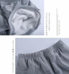 2点セット 裏起毛 インナーパンツ ショート パンツ セット 暖かい 秋冬 ふわふわ 防寒 31bs4670
