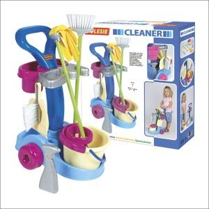 送料無料 POLESIE ポリシエ そうじ道具セット 36575 玩具 おもちゃ ままごと プレゼント 誕生日プレゼント クリスマスプレゼント