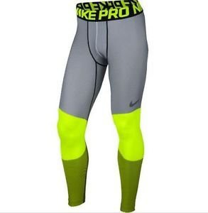 NIKE Men's Pro Hyperwarm Lines Compression Tights 699970-702