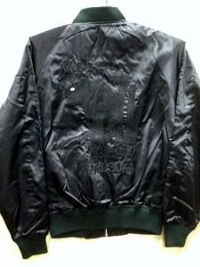 スカジャン 中綿なし 2Lサイズ 竹虎 日本製本格刺繍のスカジャン