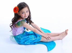 セール! 【即納】ハロウィン 人魚 人魚姫 コスプレ 子供 マーメイド キッズ 仮装 衣装 2