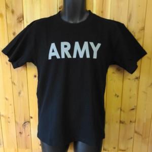 ヒューストン 半袖Tシャツ ARMY プリント HOUSTON S/S TEE/MADE IN U.S.A/ネコポス・レターパック発送可能!