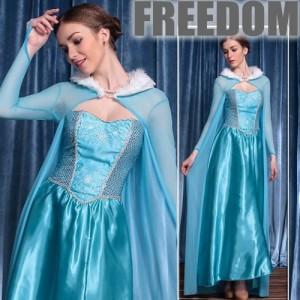15959adb366a0 アナ雪 エルサ プリンセス 姫 ディズニー コスプレ 衣装 ハロウィン 激安 セール☆アナと雪の