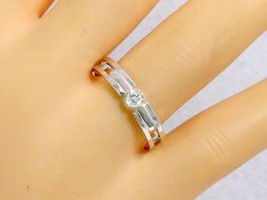 ダイヤモンド ホワイトゴールド ペアリング 結婚指輪 マリッジリング ペア 2本セット K18wg 指輪 ダイヤ ブラックダイヤ 0.10ct