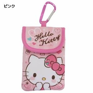 ◆ハローキティ ネオプレーン カラビナポーチ(ピンク)【サンリオアニメキャラ】(贈り物プレゼント)