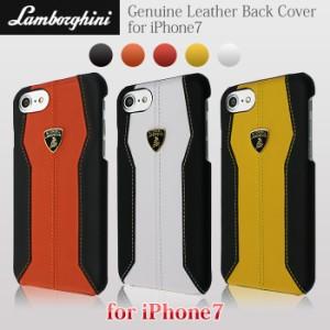 27ffa193e4 エアージェイ ランボルギーニ 公式ライセンス品 iPhone7ケース 本革 ハードケース アイフォン7ケース 海外
