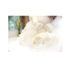 シフォン×サテン 花 バッグ 女の子 キッズ ポーチ 小物 手提げ bag140202