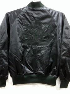 スカジャン 日本製本格刺繍のスカジャン3L 黒龍