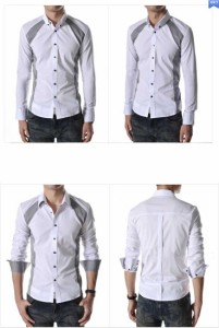 新作スタイリッシュカジュアルブロードシャツワイシャツ きれい目  メンズファッション コーディネートトップス シャツ