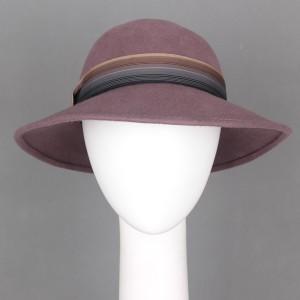 [MA8450724] 女優帽 カプリーヌ キャプリン 帽子 フェルトハット 3色展開