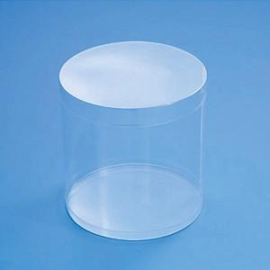 HEIKO ヘイコー 箱 クリスタルボックス スタンダードタイプ 円柱型 98×100H丸 10個入 KR-BOX-10