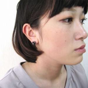 ステンレスピアス ゴシックピアス ゴシックジュエルピアス(両耳用) 金属アレルギー 316L