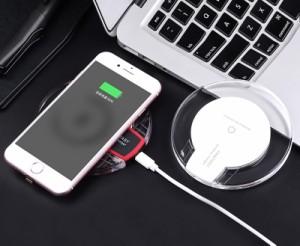 【ワイヤレス充電器】 iPhoneX iPhone8 8Plus対応 QI対応 充電器 置くだけ!簡単充電! AQUOS Galaxy Nexus スマホ iphone 送料無料