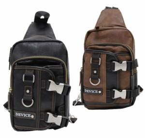 ボディバッグ メンズ バック ワンショルダー メタルバックルミニ DEVICE 送料無料 沖縄・北海道・離島は除く exas