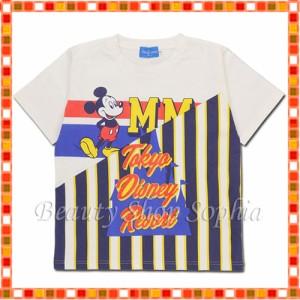 94560630da873 ミッキーマウス Tシャツ ストライプ ディズニー グッズ お土産 東京ディズニーリゾート限定