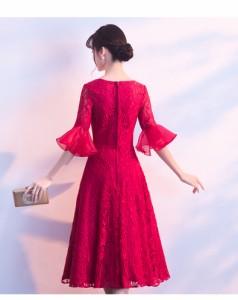 新品☆ミニ・ドレス レースワンピース 結婚式ドレス二次会 フォーマル  パーティードレス 披露宴お呼ばれ 上品 謝恩会