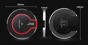 【ワイヤレス充電器】 iPhoneX iPhone8 8Plus対応 QI対応 充電器 置くだけ!簡単充電! Xpepia AQUOS Galaxy Nexus スマホ iphone