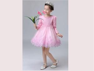 可愛い キッズ ピアノ発表会 結婚式 パーティードレス 女の子 ワンピース お姫様 大人気 長袖 フォーマル  七五三 安い