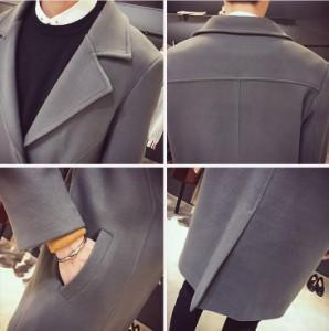 大人気 ★ダッフルコート  シングルコート   通勤 ジャケット ハイエンド  ラシャコート 学生 通勤